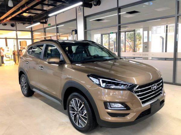 Hyundai Tucson màu cát