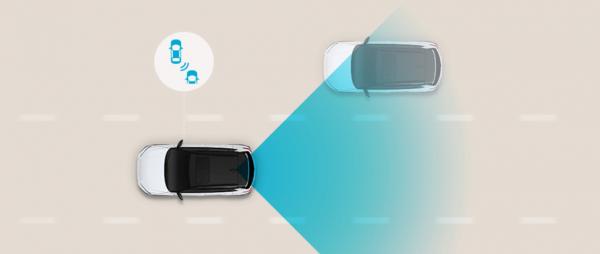 Hệ thống cảnh bảo điểm mù với radar giúp nhanh chóng phát hiện và cảnh báo chướng ngại vật đi vào phần mù trong tầm quan sát của bạn