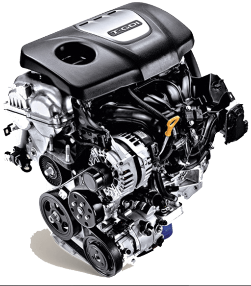 Động cơ Gamma 1.6L T-GDI cho công suất 177 mã lực tại 5.500 vòng/phút cùng Momen xoắn cực đại 265NM từ 1,500 ~ 4,500vòng/phút