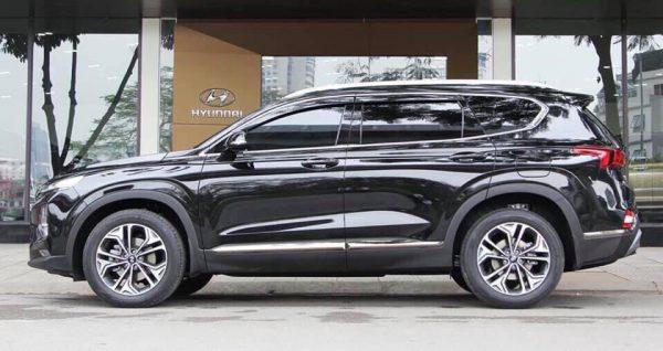 Hyundai Santafe màu đen